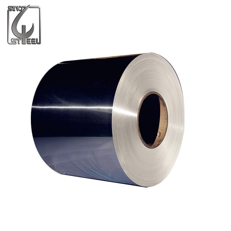 300 Serie bobina laminación de acero inoxidable